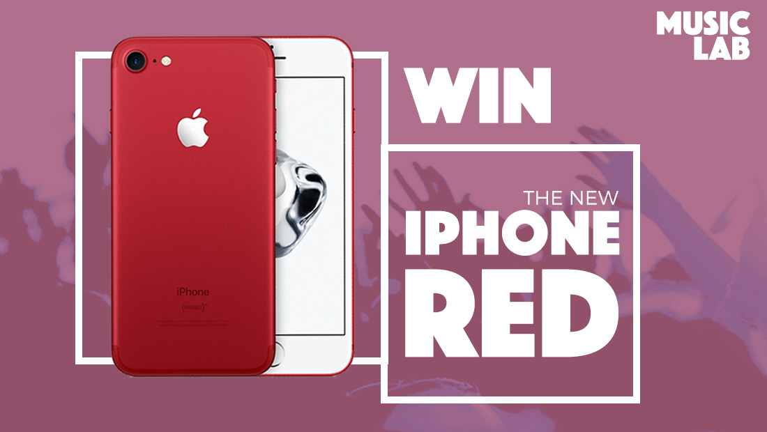 Win an iPhone Red with Musiclab!