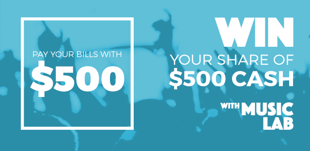 Win $500 with MusicLab!